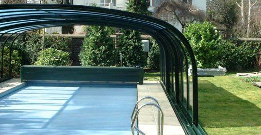 Grand Mobil Schwimmbad-Überdachung