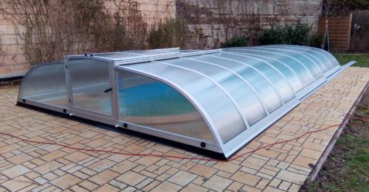 Mini-V1-Mobil Poolüberdachung